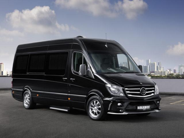 12 Passenger Sprinter Limo Bus - Mercedes