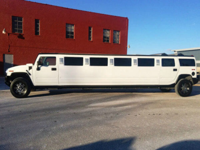 22 Passenger Luxury Stretch SUV Limo - H2 Hummer