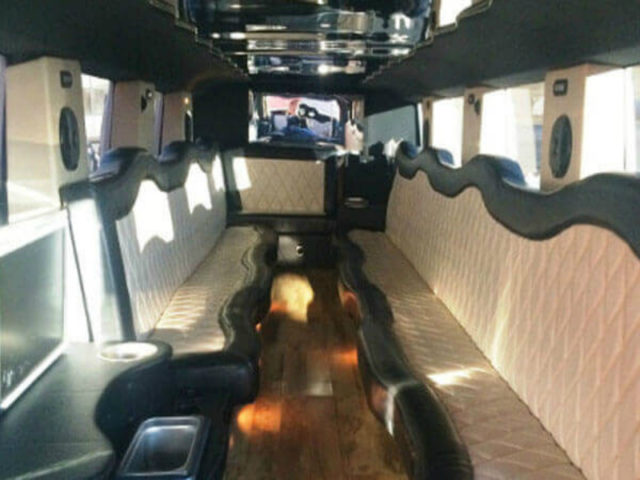 22 Passenger Stretch SUV Limo - H2 Hummer