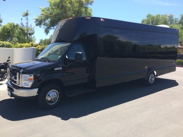 34 Passenger Limo Bus