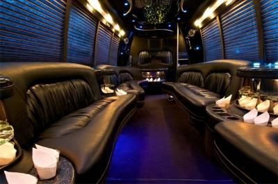 36-40 Passenger Limo Bus