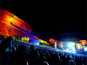 Red Rocks Party Bus