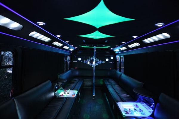 25-30 Passenger Limo Bus