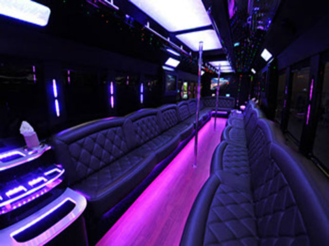 50-55 Passenger Limo Bus